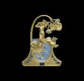 7-17A-162Leda and the Swan Pendant by René Lalique