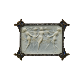 1-10A-792Plaque With Dancing Nymphs by René Lalique